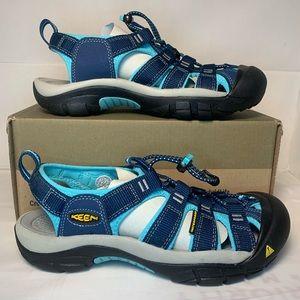 KEEN Sandal Newport H2 Blue Women's Size 7.5 and 7